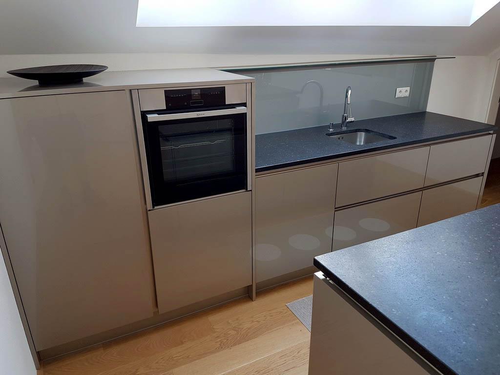Moderne Kuche Grau